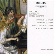 Favourite Piano Sonatas | CD