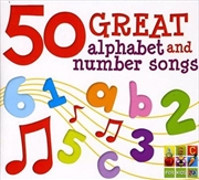 50 Great Alpha and Number Songs
