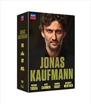 Jonas Kaufmann - Carmen - Tosca - Faust - Werther [4 Dvd]   DVD