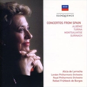 Concertos From Spain - Albeniz/Turina/Montsalvatge/Surinach | CD
