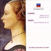 Hummel: Septet & Quintet/Weber: Clarinet Quintet   CD