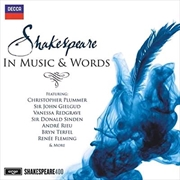 Shakespeare In Music and Words | CD