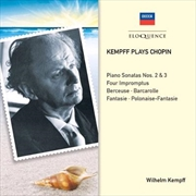 Kempff Plays Chopin | CD