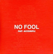 No Fool/On A Blue Day | CD Singles