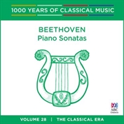 Beethoven: Piano Sonatas (1000 Years Of Classical Music, Vol 28)