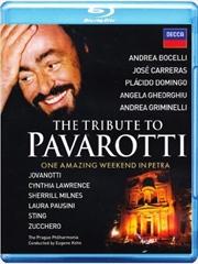 Tribute To Pavarotti   Blu-ray
