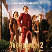 Anchorman 2- The Legend Continues | CD