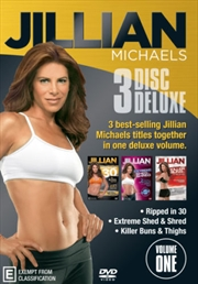 Jillian Michaels - Deluxe Edition - Volume 1-3 | DVD