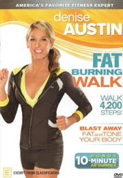 Denise Austin Fat Burning Walk | DVD