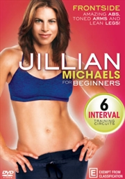 Jillian Michaels - For Beginners Frontside | DVD