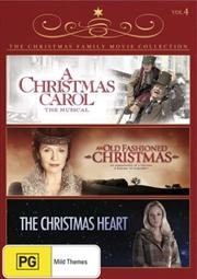 Christmas Family Movie Collection - A Christmas Carol / An Old Fashioned Christmas / The Christmas H | DVD