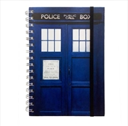 Doctor Who Logo A5 Notebook