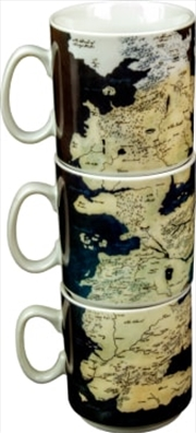 Game Of Thrones: Westeros Mug Set | Merchandise