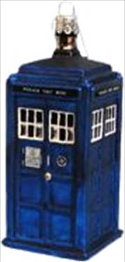 Doctor Who Christmas Ornament Tardis 4.25