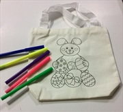 Canvas Bunny Bag