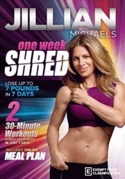 One Week Shred | DVD