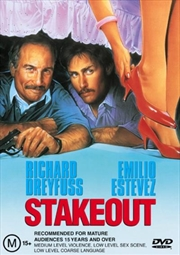 Stakeout | DVD