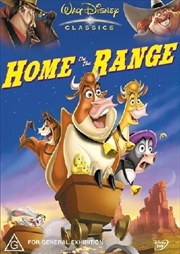 Home On The Range | DVD