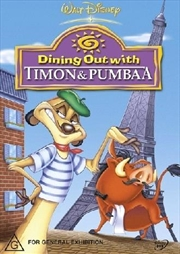 Dining Out With Timon And Pumbaa | DVD