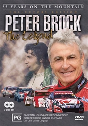 Legend Peter Brock: 35 Years On the Mountain: Collector's Edition