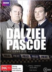 Dalziel and Pascoe - Series 1-11 | Boxset