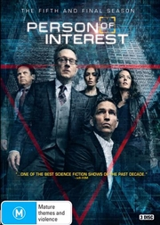 Person Of Interest - Season 5   DVD