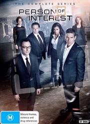 Person Of Interest - Season 1-5   Boxset   DVD