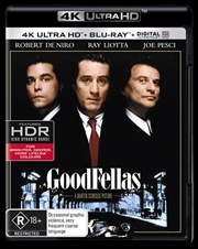Goodfellas | Blu-ray + UHD + UV