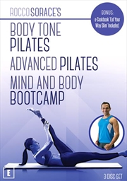 Rocco Sorace: Body Tone Pilates, Advanced Pilates and Mind & Body Bootcamp | DVD