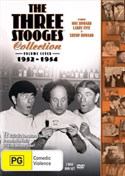Three Stooges - 1952-1954 - Vol 7 | DVD