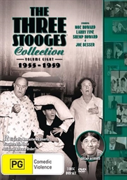 Three Stooges - 1955-1959 - Vol 8 | DVD