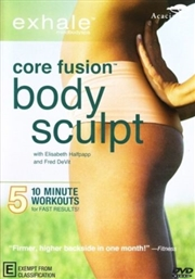 Exhale Core Fusion: Body Sculpt | DVD