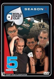 World Poker Tour; S1: 5dvd