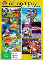 Tom And Jerry Movie Pack | DVD