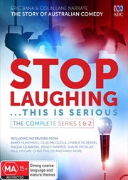 Stop Laughing - This Is Serious - Series 1-2 | Boxset | DVD
