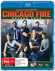 Chicago Fire - Season 4 | Blu-ray