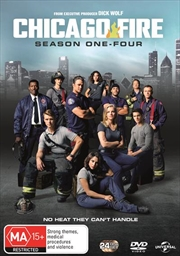 Chicago Fire - Season 1-4 Boxset | DVD