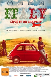 Italy: Love It Or Leave It | DVD
