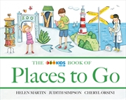 Abc Book Of Places To Go | Hardback Book
