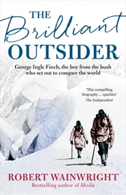 Brilliant Outsider   Paperback Book