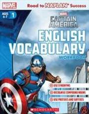 Marvel Workbook: Captain America Level 1 English Vocabulary | Paperback Book