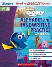 Disney Learning Workbook: Finding Dory Level K Alphabet and Handwriting Practice | Paperback Book