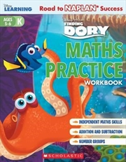 Disney Learning Workbook: Finding Dory Level K Maths Practice | Paperback Book