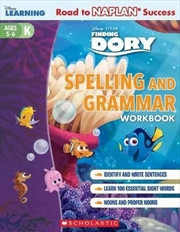 Disney Learning Workbook: Finding Dory Level K Spelling and Grammar | Paperback Book