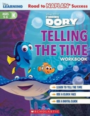 Disney Learning Workbook: Finding Dory Telling the Time Level K | Paperback Book