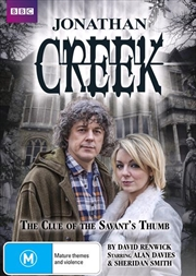 Jonathan Creek - The Clue Of The Savant's Thumb   2013 Easter Special   DVD