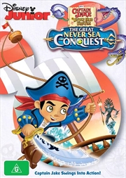Jake And The Never Land Pirates - The Great Never Sea Conquest | DVD