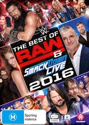 WWE - Best Of Raw Smackdown 2016 | DVD