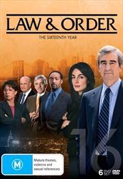 Law And Order - Season 16 | DVD