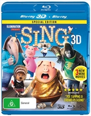 Sing - Special Edition | 3D + 2D Blu-ray